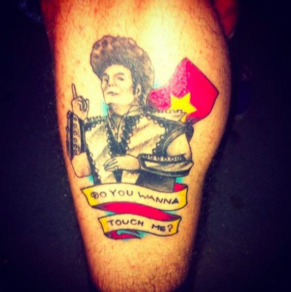 Tattoo artist sex offender