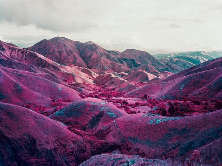 Photos Stunning Pink Landscapes Of The Deadly War Torn