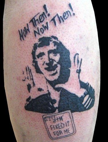 Jimy Savile tatoo 1