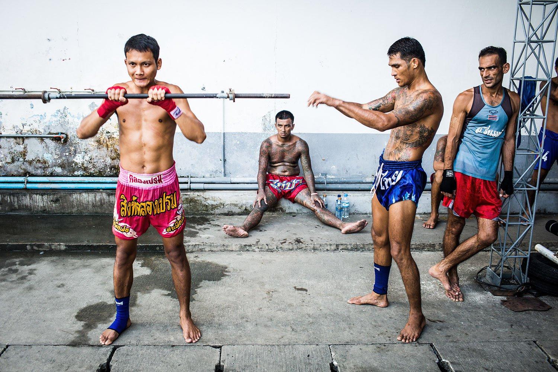 Muay Thai prison