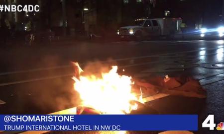Protestor Lights Himself On Fire