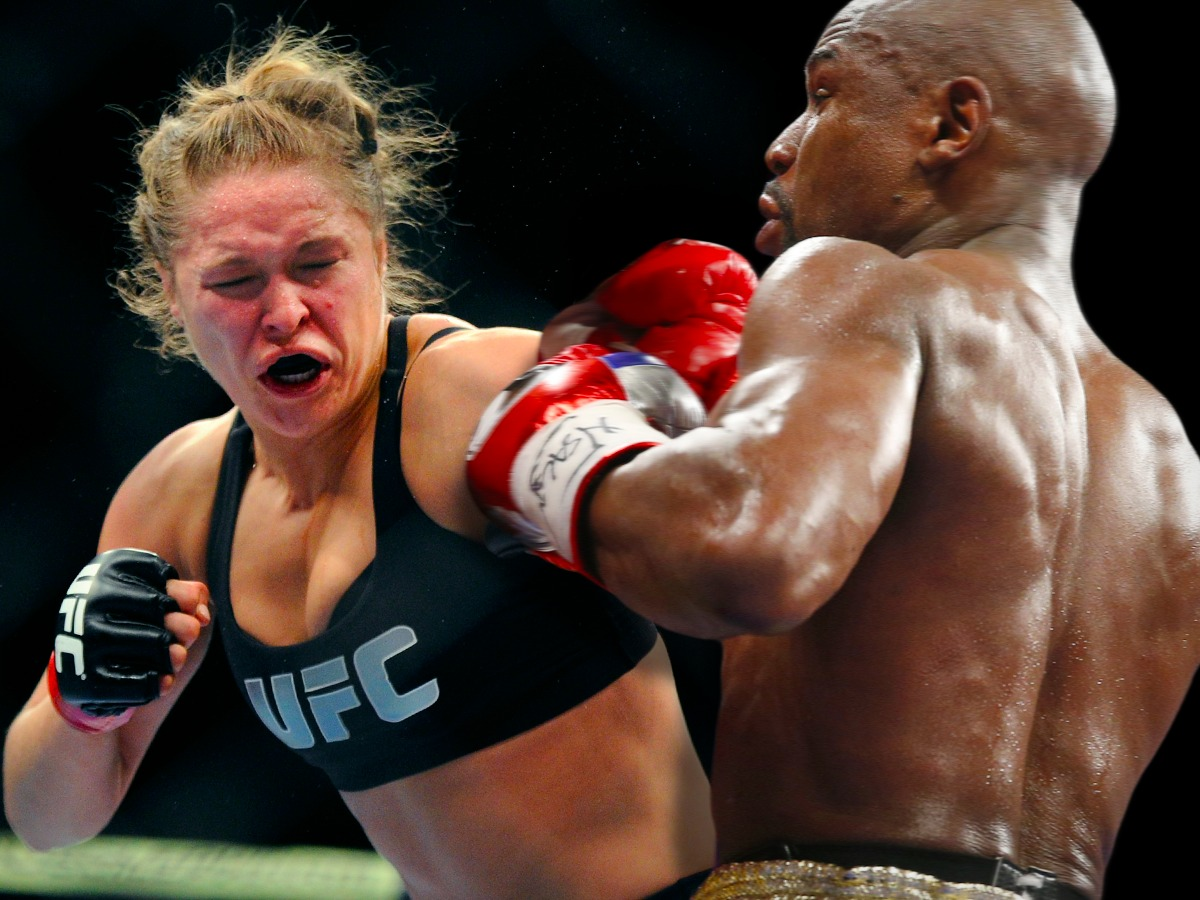 rousey may weather