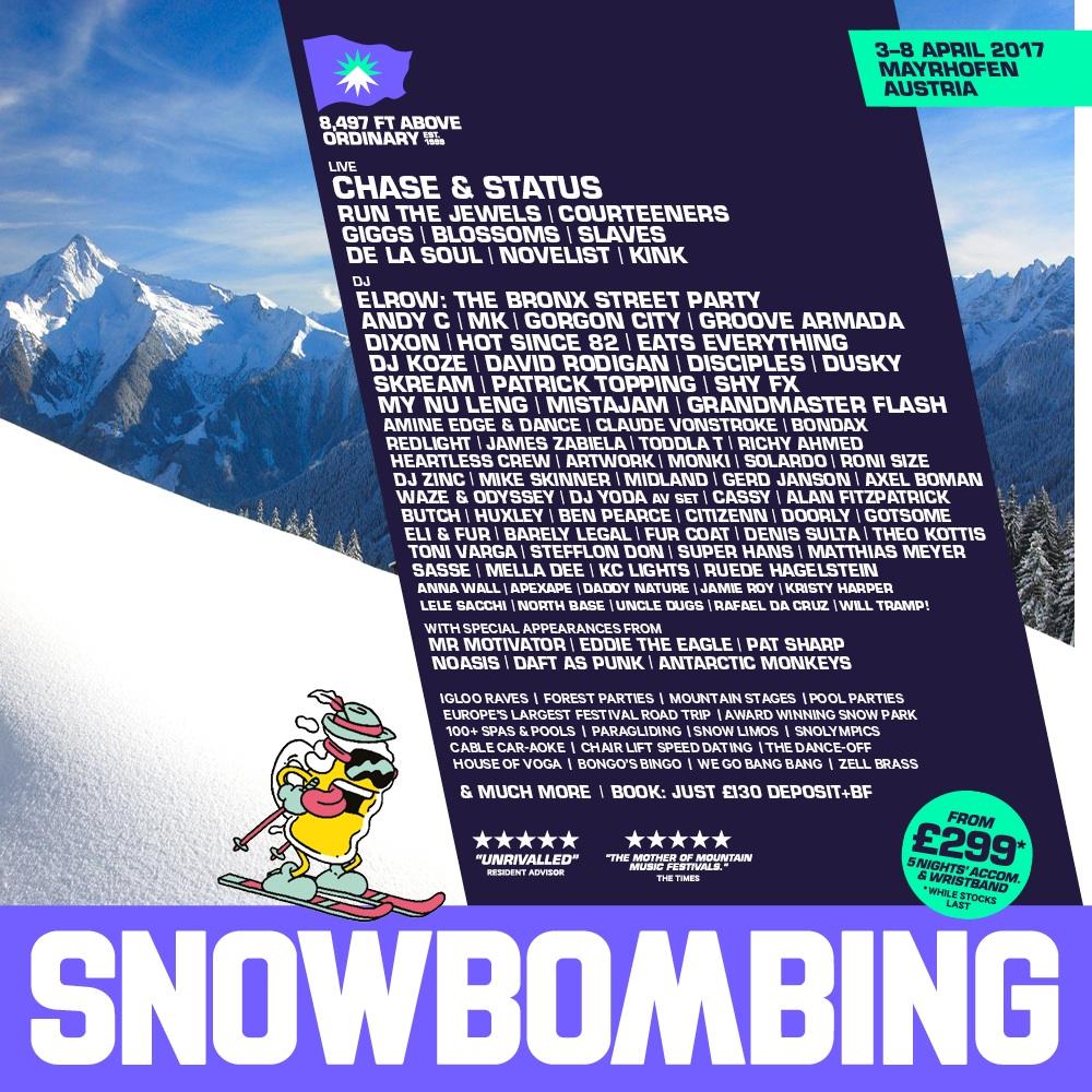 Snowbombing Poster