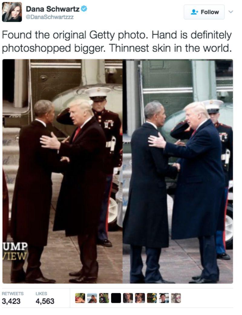Trump hand 1
