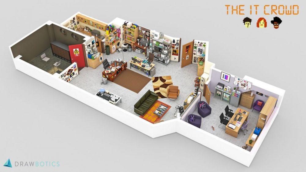 3D TV Show Models 7