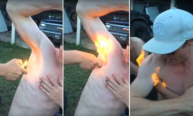 Armpit Hair Fire