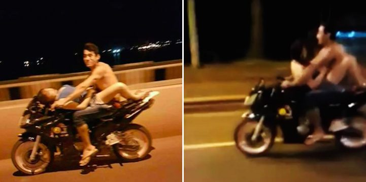 Couple Caught Having Sex