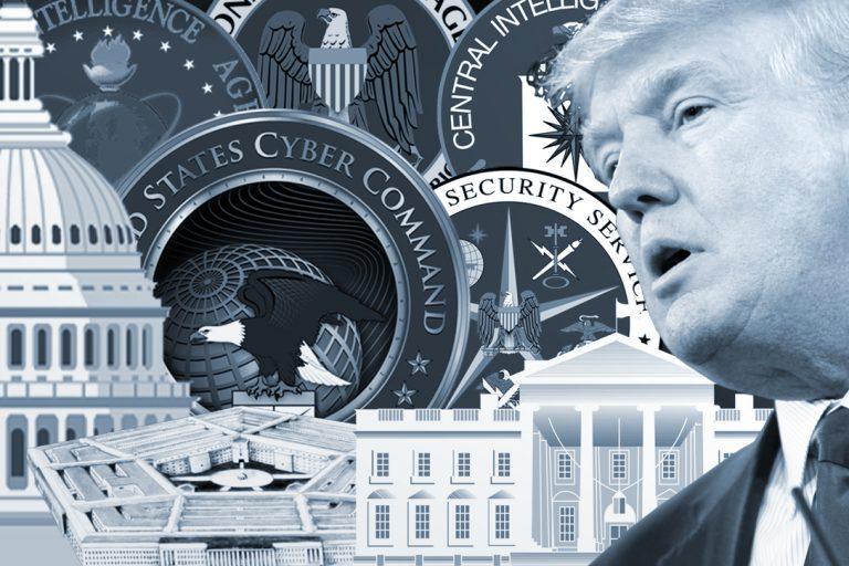 Donald Trump Deep State