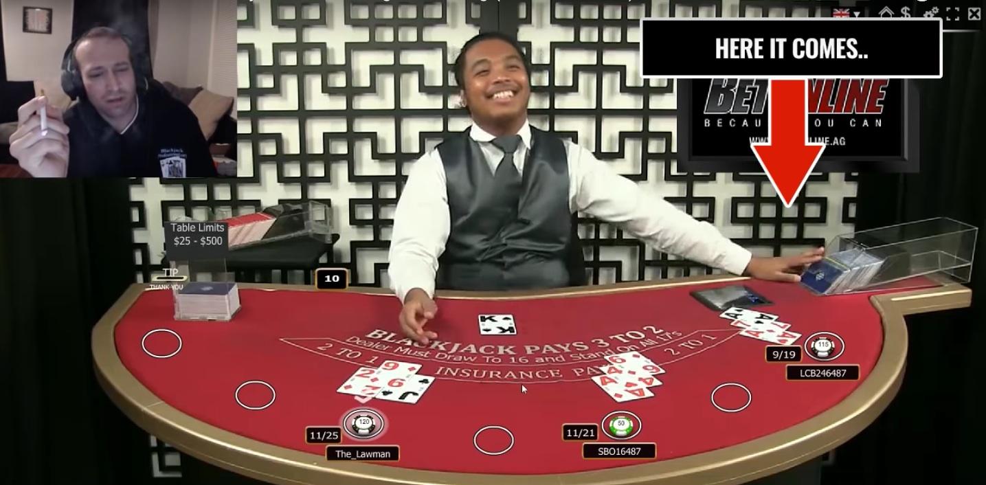 Gambling company cheating dealer