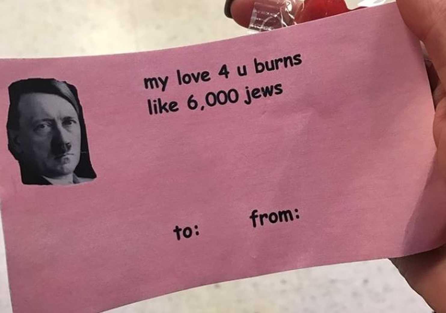 Hitler Valentine Card