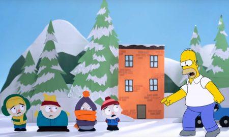 Homer South Park