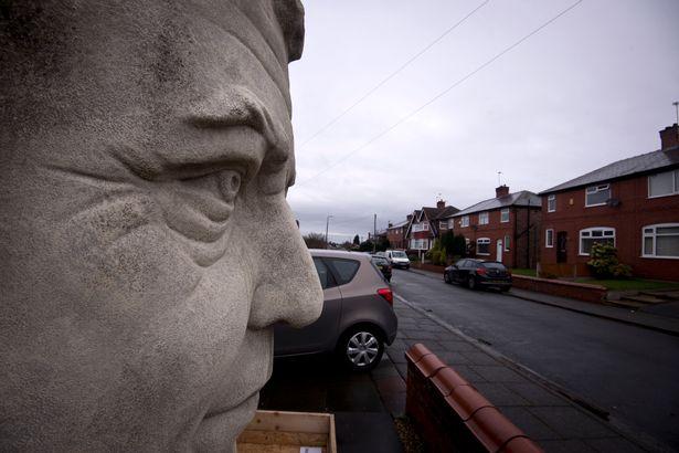 Jeremy Clarkson Sculpture