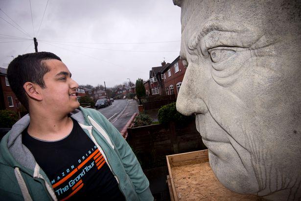 Jeremy Clarkson sculpture Zohaib Alam