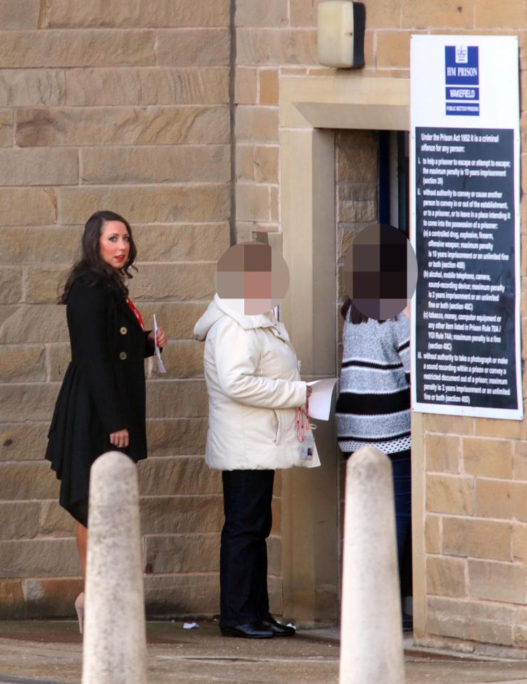 Paula visiting prison