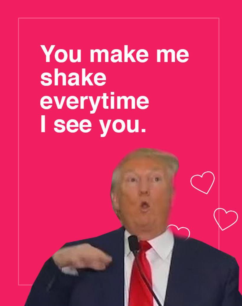 Trump Valentine's 2