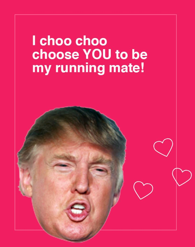 Trump Valentine's 6