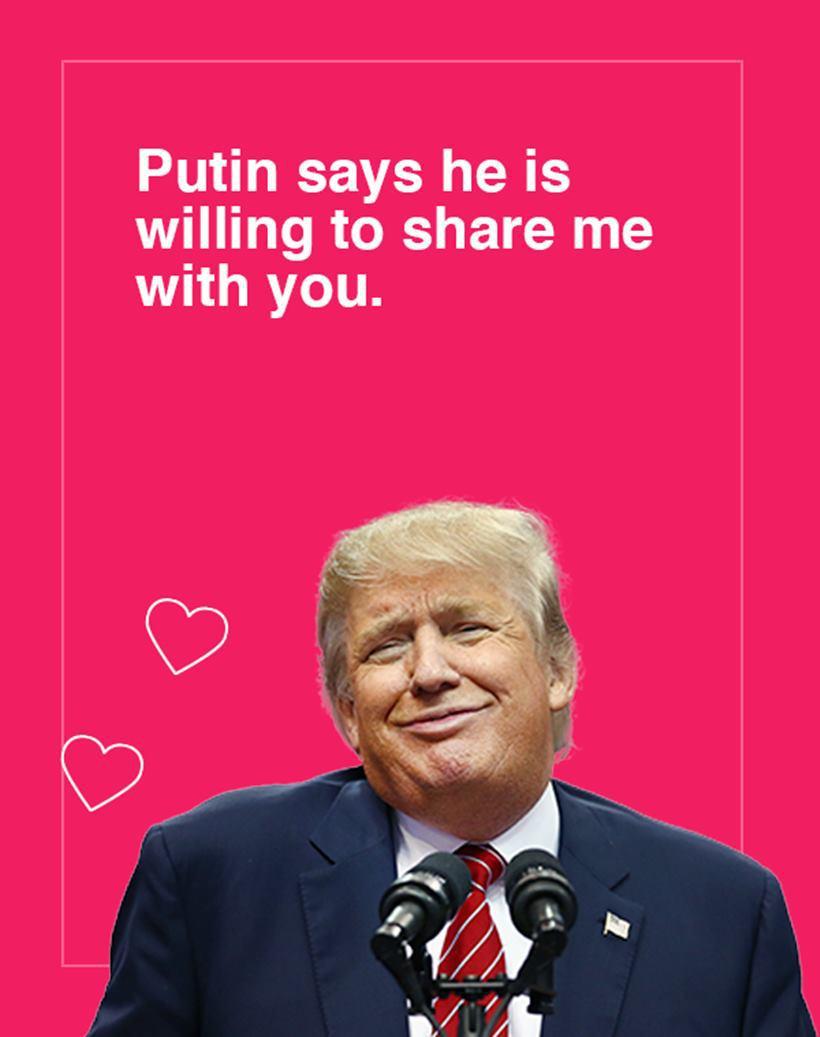 Trump Valentine's 8