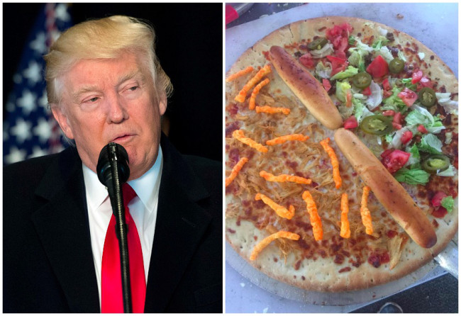 Trump pizza