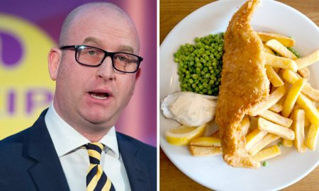 UKIP Fish ANd CHips