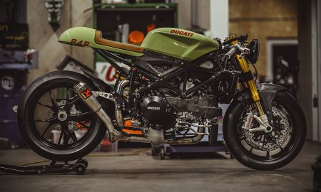 army green 140HP Ducati 848 Evo 1