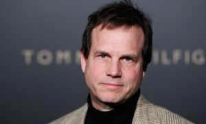 Actor Bill Paxton arrives at the The Hollywood Reporter Academy Awards nominee party in Los Angeles