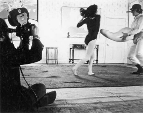 Candid From Behind The Scenes Stanley Kubrick