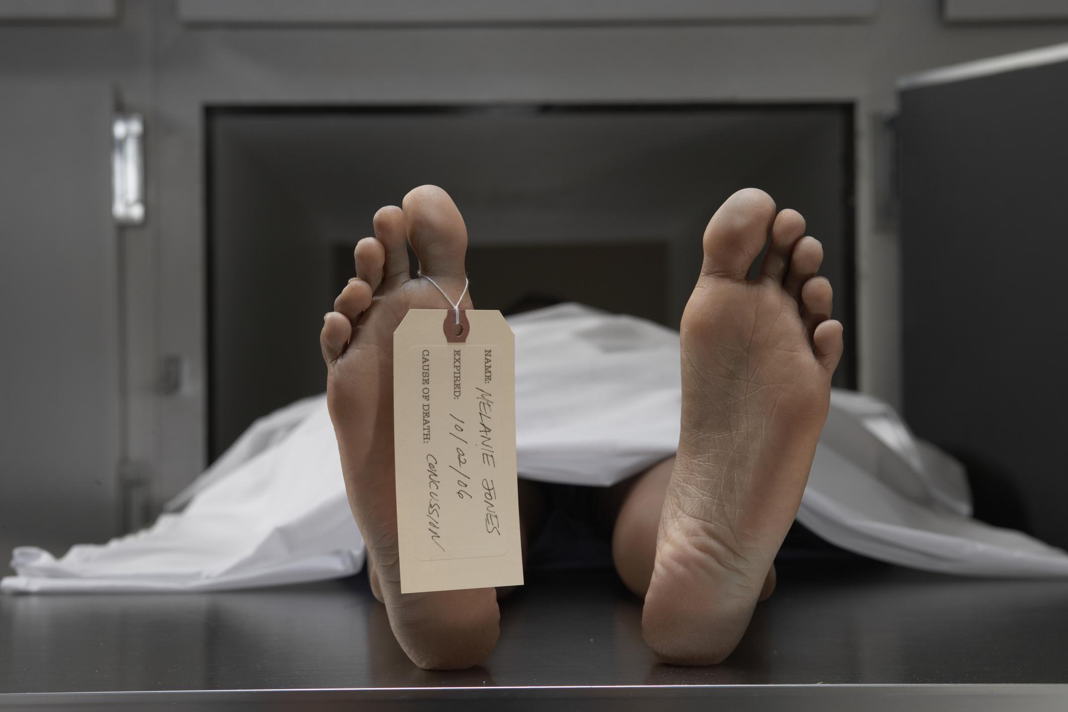 Dead body table
