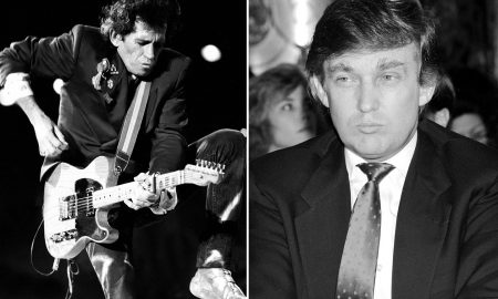 Donald Trump Keith Richards