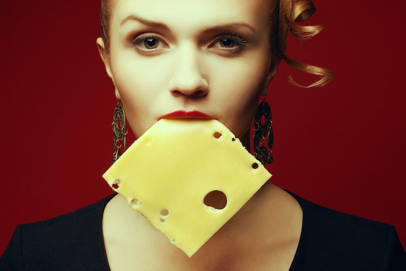 Eating cheese