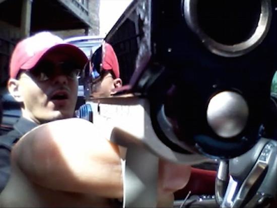Gang Member Shoots legs
