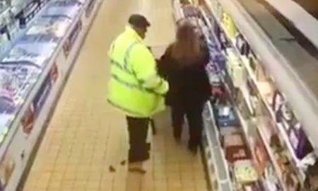 Man supermarket