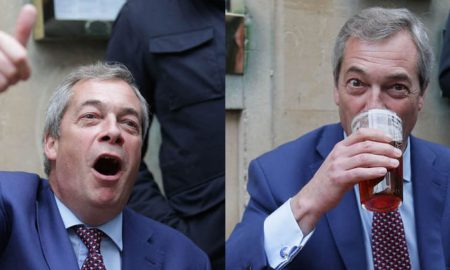 Nigel Farage wasted