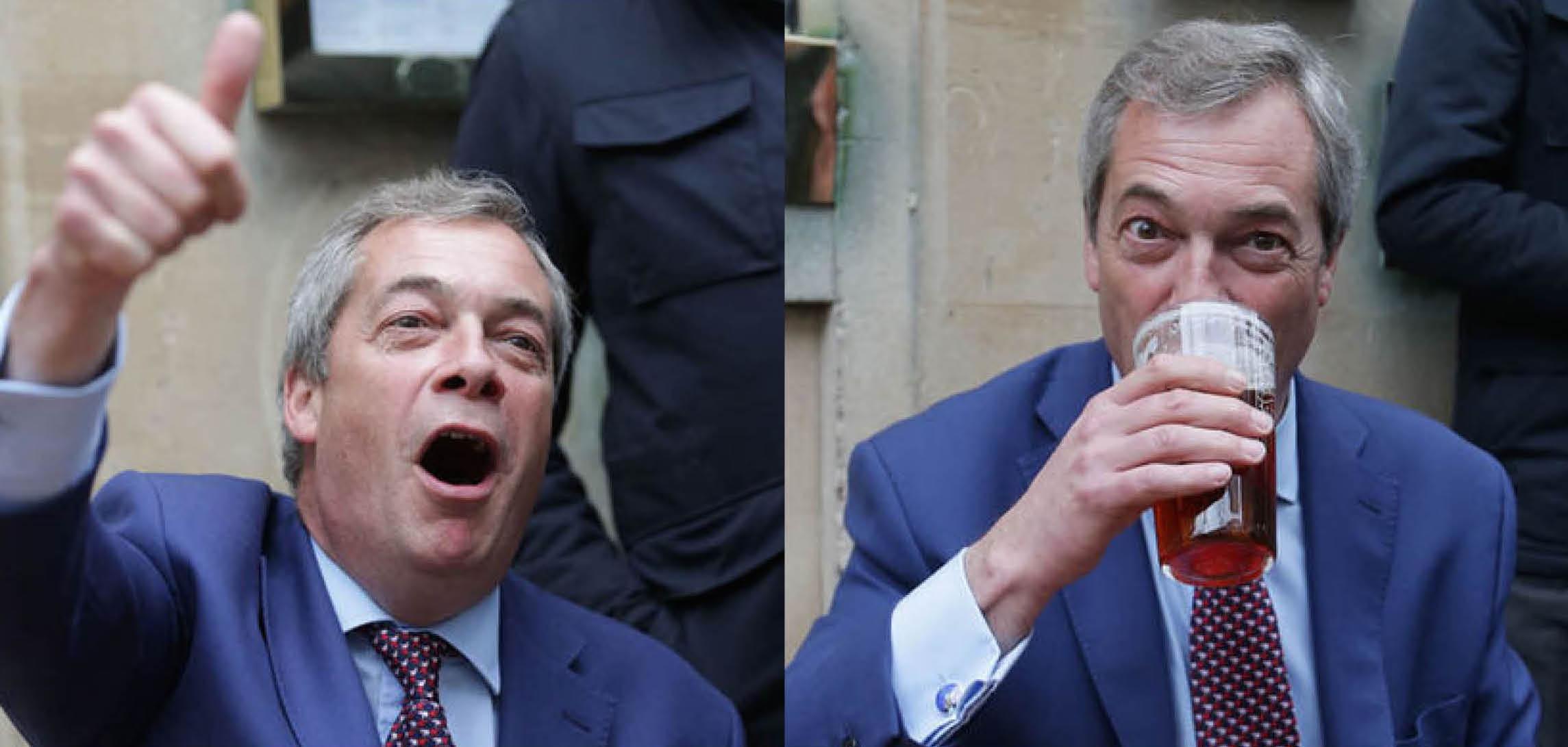 Nigel Farage wasted