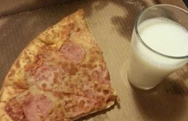 Pizza milk