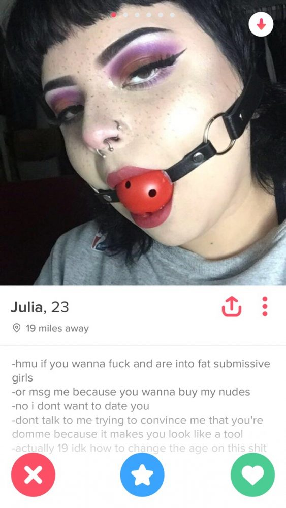 what to write in your tinder bio