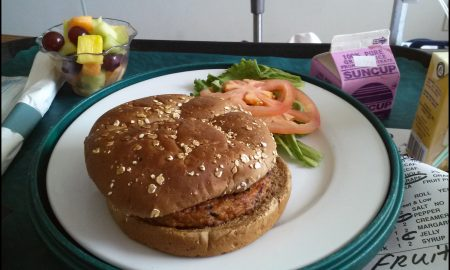 Vegan food hospital