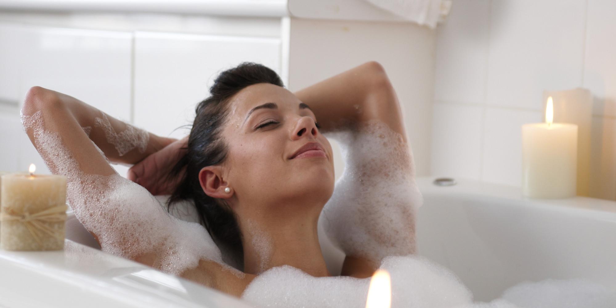 Woman bath
