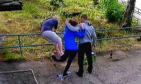 Woman leg broken on purpose