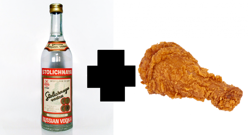 Chicken Vodka