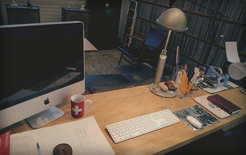 Haruki desk