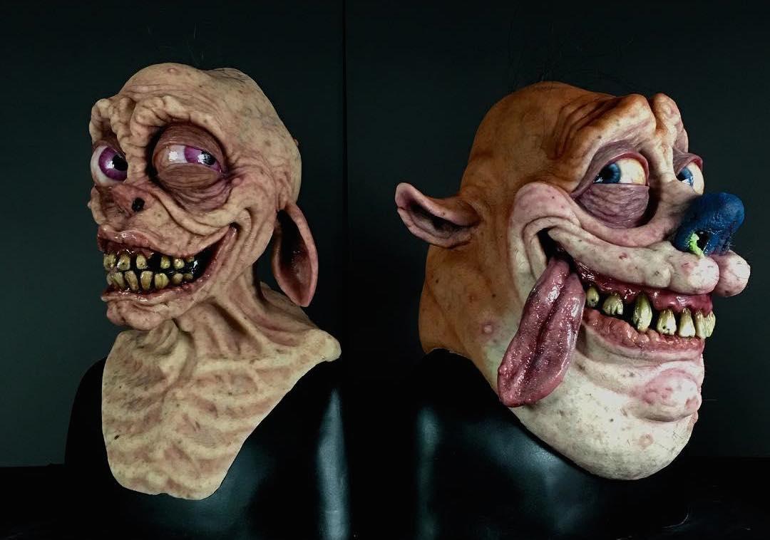 Ren and Stimpy masks