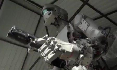 Robot gun