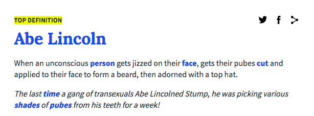 Urban dictionary sex acts