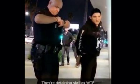 Skrillex Arrested