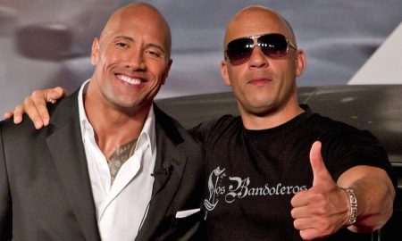 The Rock Vin Diesel