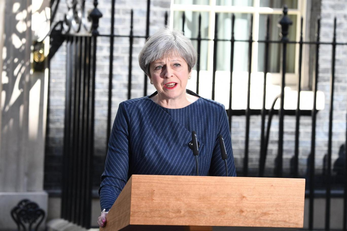 Theresa May just called for a snap General Election on 8th June