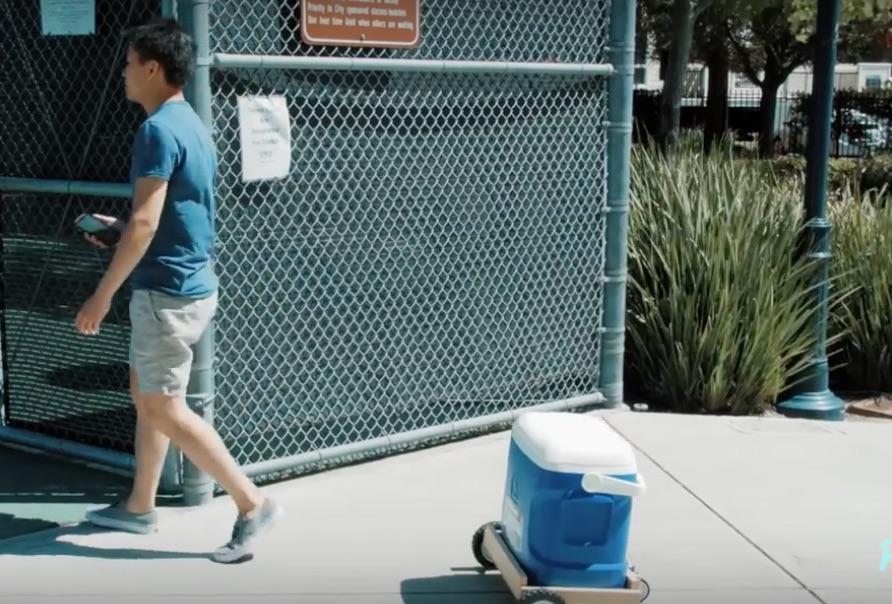Autonomous Beer Cooler