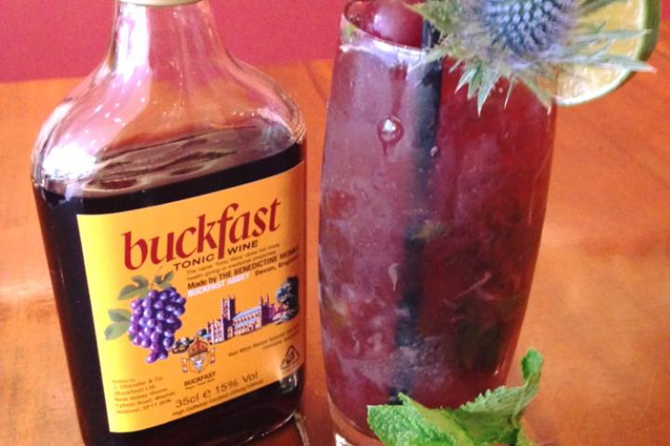 Buckfast cocktail