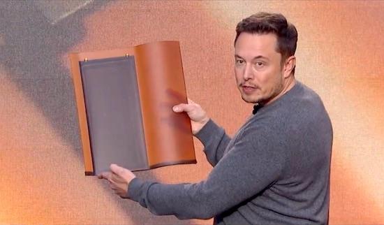 Elon Musk Roof Panels