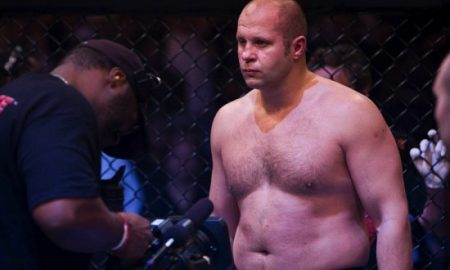 Fat MMA fighter
